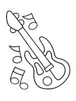 coloring page Musical Instruments on Kids-n-Fun. Coloring pages of Musical Instruments on Kids-n-Fun. More than coloring pages. At Kids-n-Fun you will always find the nicest coloring pages first! Free Kids Coloring Pages, Printable Coloring Pages, Coloring Book, Musical Instruments Drawing, Musical Instruments Clipart, Music Party, Stained Glass Patterns, Music Notes, Art For Kids