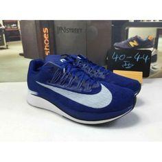50e73fd9162e Nike Zoom VaporFly 4% Men s Royal Blue. Hotrunningshoeshelper · nike sneaker