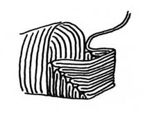 various ways to make naalbinding socks