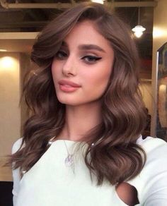 Trendy hair color highlights for brunettes blond make up Hair Color Highlights, Hair Color Dark, Hair Color Balayage, Blonde Color, Cool Hair Color, Brown Hair Colors, Brown Highlights, Blonde Balayage, Caramel Balayage