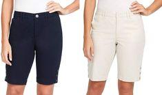 4af8962bc54 NEW Gloria Vanderbilt Women s Maren Twill Shorts