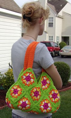 New crochet bag :)