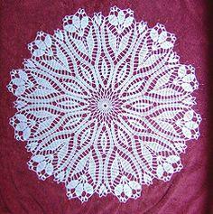 Ravelry: Crocus Doily pattern by Hartmut Hass