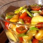 Kartoffelsalat med smagen af sommer
