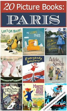 Do a little armchair traveling to Paris with these picture books for kids.
