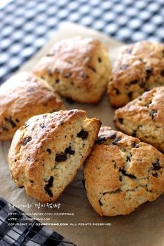 Bread Recipes, Baking Recipes, Afternoon Tea Recipes, Korean Food, Food Plating, Diy Food, Bread Baking, Scones, Muffin