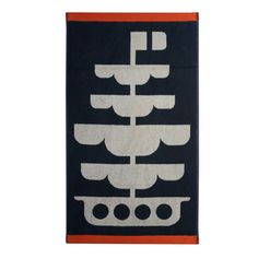 Orla Kiely: Deep piled jacquard weave towels in 'Out at Sea' design for children. Available in face cloth, hand towel and bath towel. Orla Kiely Towels, Usa House, House Beds, Designer Toys, Jacquard Weave, Little People, Bath Towels, Home Accessories, Kids Room