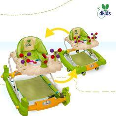 Modelo Pavo Real Verde  -- Precio: $799.ºº -- Detalles: · Estructura regulable al tamaño del niño.  · Charola con figura y sonido para entretenimiento del niño.  · Asiento acolchado desmontable.  --  Para comprar esta hermosa andadera, sólo da click en la imagen