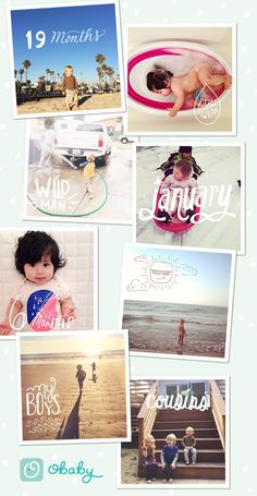Obaby App | Tell stories with artwork on your family photos | 100 Layer Cakelet
