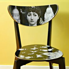 Mark Montano: Fornasetti Ikea Hack great idea for a modern or vintage looking chair