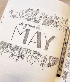 "156 Likes, 6 Comments - Lauren (@laurenslittlebujo) on Instagram: ""Happy May! Here's my own version of the Justin Timberlake meme #itsgonnabemay . . . #bulletjournal…"""