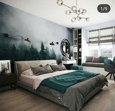 Master Bedroom Interior, Bedroom Bed Design, Home Bedroom, Modern Bedroom, Diy Bedroom Decor, Muebles Home, Bedroom Layouts, Home Design Plans, Home And Deco