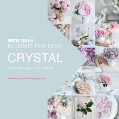 Professional Photoshop Actions by Sarah Gardner Photoshop Actions, Lens, Crystals, Crystals Minerals, Lentils, Crystal