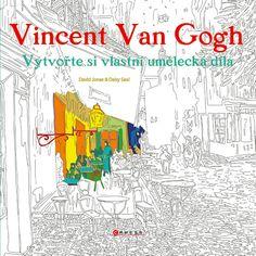 Kniha Vincent van Gogh - Vytvořte si vlastní umělecká díla   knizniklub.cz