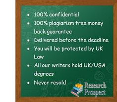 Get Custom Dissertation Topic and Outline from Research Prospect