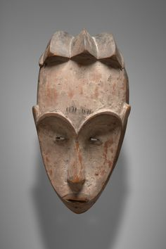Mask, late 19th to early 20th century, Wood, pigment, Central Africa, Gabon, Fang, Ngil Initiation