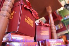 The Skiving Snackbox and Fainting Fancies. | 19 Magical Finds At The Weasleys' Joke Shop In Universal's Diagon Alley