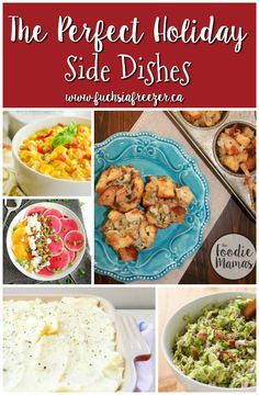 The Perfect Holiday Side Dishes are just one click away! Think soups, pilaff, stuffings cups and more! Make your holiday party a success with these mouth watering sides.