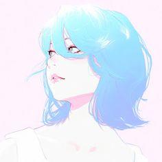Kuvshinov Ilya is creating Illustrations and Comics Art And Illustration, Anime Art Girl, Manga Art, Anime Girls, Anime Face Drawing, Girl Face Drawing, Drawing Faces, Character Inspiration, Character Art