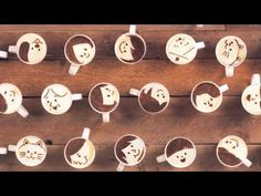 Latte Motion: A Cute Stop-Motion Video Created with 1,000 Cups of Latte [Video] Coffee Art, Coffee Love, Coffee Cups, Coffee Drinks, Animation Stop Motion, Café Latte, Cute Love Stories, Motion Video, Best Coffee Shop