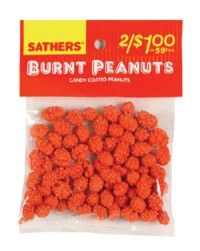 The fact that we would eat something called Burnt Peanuts!