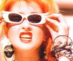 Cyndi Lauper in the 80s