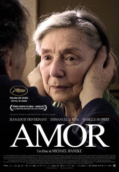 "Pelicula ""Amor"" con Jean-Louis Trintignant, Emmanuelle Riva y Isabelle Huppert. Series Movies, Film Movie, Hd Movies, Movies To Watch, Movies Online, Movies And Tv Shows, Isabelle Huppert, Michael Haneke, Indie Films"