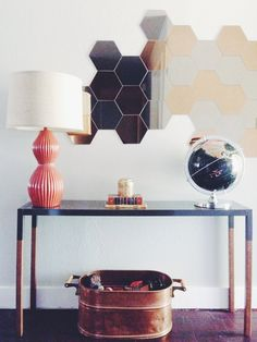 Mid Century Modern Hall Table | The Magpie Collective