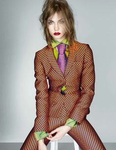 Karlie Kloss in the September issue of British Vogue via TheSpicyStiletto.