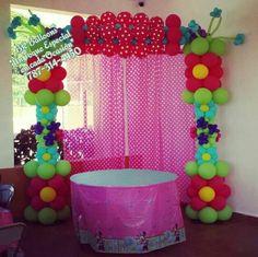 balloon arch.