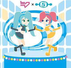 Hatsune Miku and Ulala (Space Channel 5)