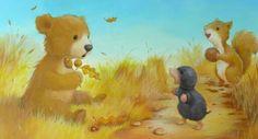 Cuteness Overload: Bear Illustrations by Alison Edgson. – Bookmarin