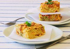 THERMOMIX: Torta de legumes