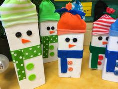 237 Best January Images On Pinterest Snowman Snowman Crafts And