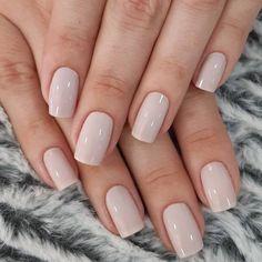 nails for prom neutral \ nails for prom ; nails for prom silver ; nails for prom white ; nails for prom black ; nails for prom pink ; nails for prom red dress ; nails for prom neutral ; nails for prom gold Soft Nails, Neutral Nails, Simple Nails, Simple Wedding Nails, Light Pink Nails, Wedding Nails For Bride, Neutral Wedding Nails, Pastel Pink Nails, Blush Nails