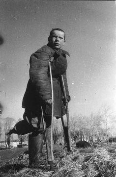Besieged Leningrad, 1942.