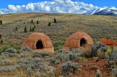 Similar structures can be found in both Death Valley and Wyoming, as well as scattered throughout the West - but the perfect dome shape of the Birch Creek kilns sets them apart. Vacation Places, Places To Travel, Vacations, Travel Destinations, Vacation Spots, Vacation Ideas, The Places Youll Go, Places To See, Driggs Idaho