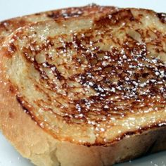 Weight Watchers French Toast | Easy Cookbook Recipes- this is only 1 point for 2 slices and if you add any butter then it will increase point value. ((May be 1 point for 1 slice depending on the bread))