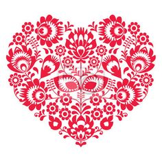 Hungarian Embroidery Patterns Polish folk art heart pattern in black - wzory lowickie - Polish folk art heart pattern in black - wzory lowickie Sticker ✓ Easy Installation ✓ 365 Day Money Back Guarantee ✓ Browse other patterns from this collection! Hungarian Embroidery, Folk Embroidery, Learn Embroidery, Floral Embroidery, Embroidery Stitches, Embroidery Patterns, Machine Embroidery, Vektor Muster, Bordado Popular