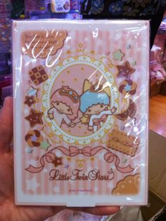 【2013.10】【Kiki&Lala Shop in Odakyu Shinjuku】【Cookie】Mirror (¥1,050) ★Little Twin Stars★