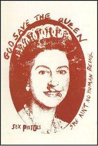 Jamie Reid (British God Save the Queen Sex Pistols Silkscreen Red Classic Portraits, Vintage Poster, Save The Queen, Illustrations, Silk Screen Printing, Post Punk, Punk Rock, Pop Art, Culture