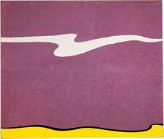 Roy Lichtenstein  American (1923 - 1997), White Cloud