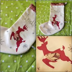 Personalised stockings from BeanFrock. £25.00