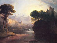 """Fanciful Landscape,"" Thomas Doughty."