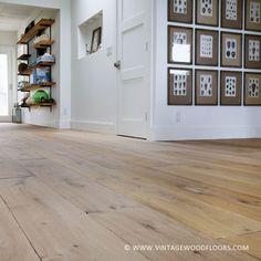 European oak wide planks vintagewoodfloors.com