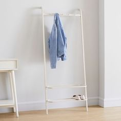 Modern Closet Organizers, Hanging Closet Organizer, Closet Organization, Clothes Stand, Bamboo Wall, Hanging Clothes, Garment Racks, Frame Wall Decor, Rack Design