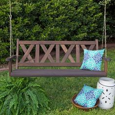 Porchgate Amish Made Haven 5ft. Porch Swing