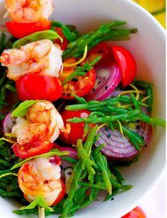 Salads - shrimp