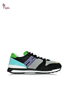 Hogan Femme Hxw2610q900c7z0xe5 Multicolore Tissu Baskets - Chaussures hogan (*Partner-Link)