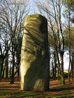 Menhir de Kermarquer - Moustoir-ac, Morbihan.  Brittany